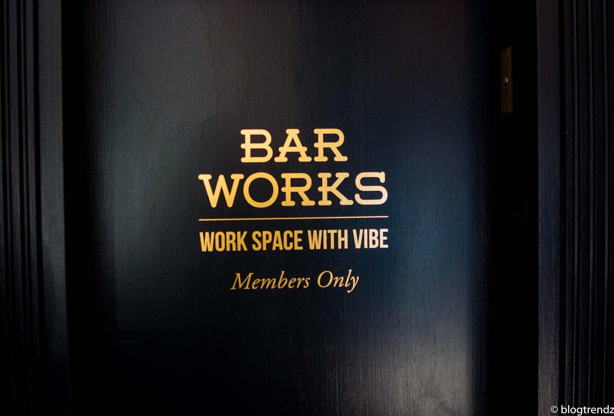Bar Works San Francisco