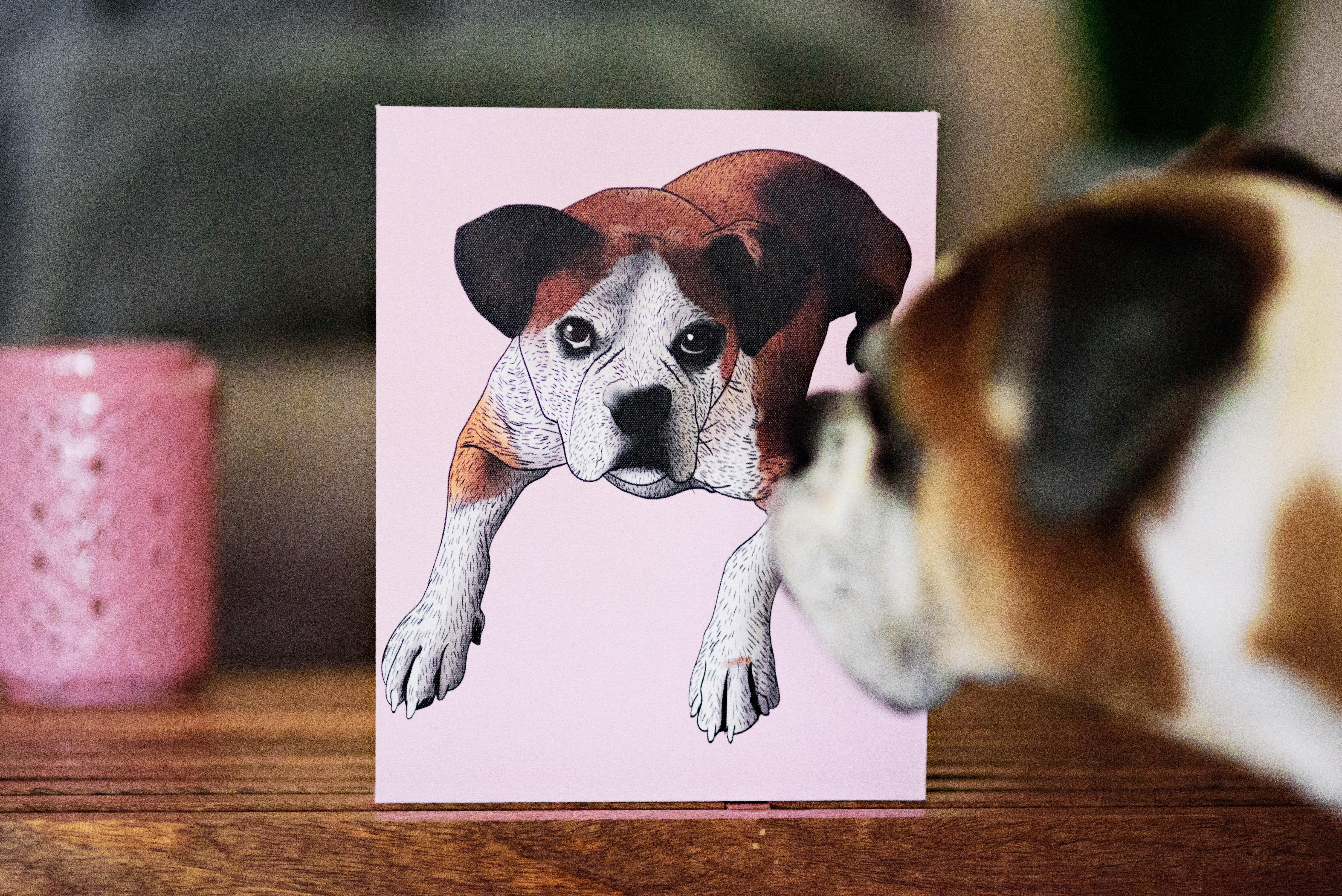 Pet pop art by 9 barks